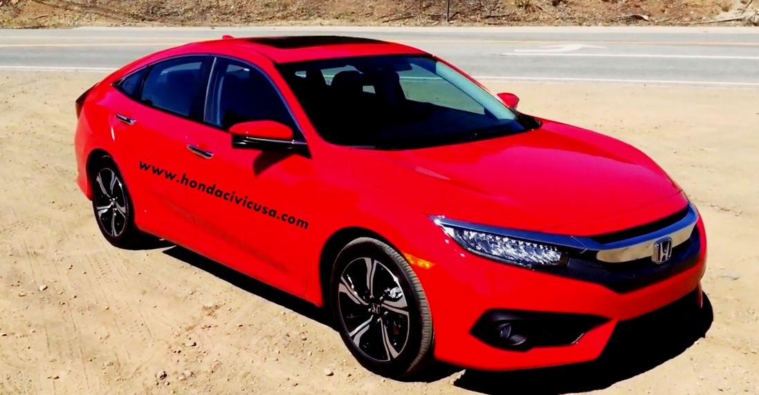 2016 honda civic lx sedan manual specs review release for Honda civic 2016 dimensions