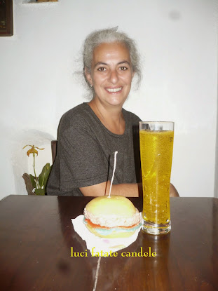 Birra e hanburger