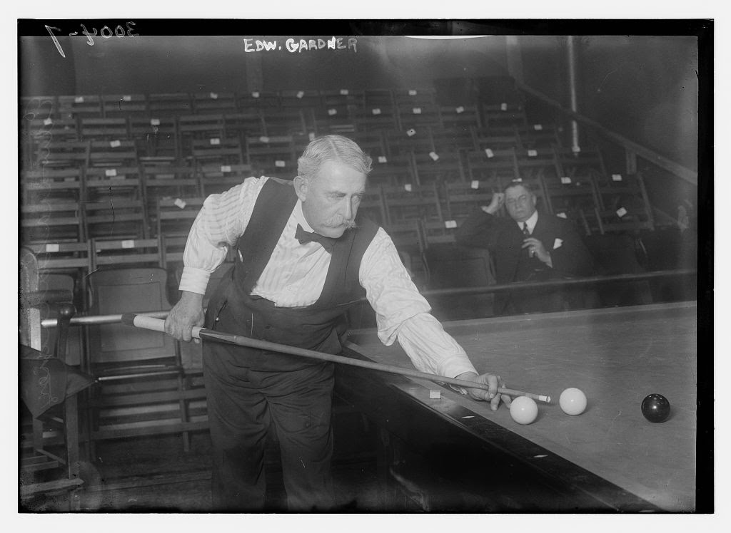 Vintage Photos Of Billiards Pool Players In The Early