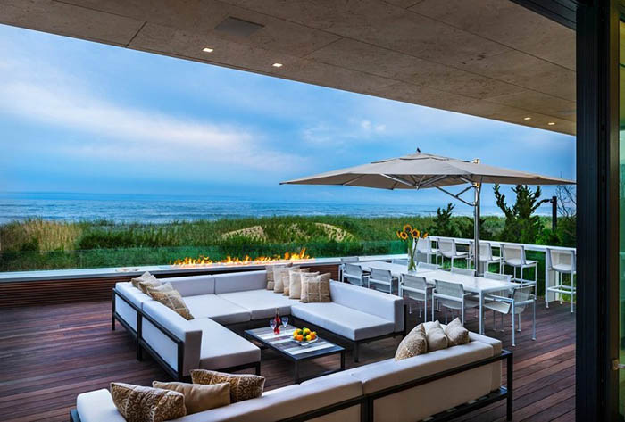 casas minimalistas y modernas casa moderna frente al mar