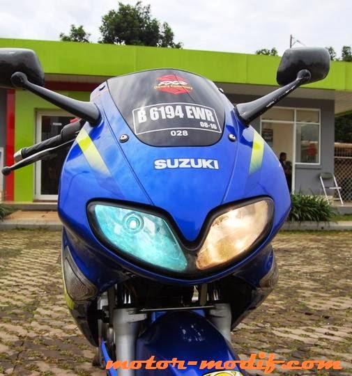 Foto Modifikasi Suzuki FXR150 Tahun 2003