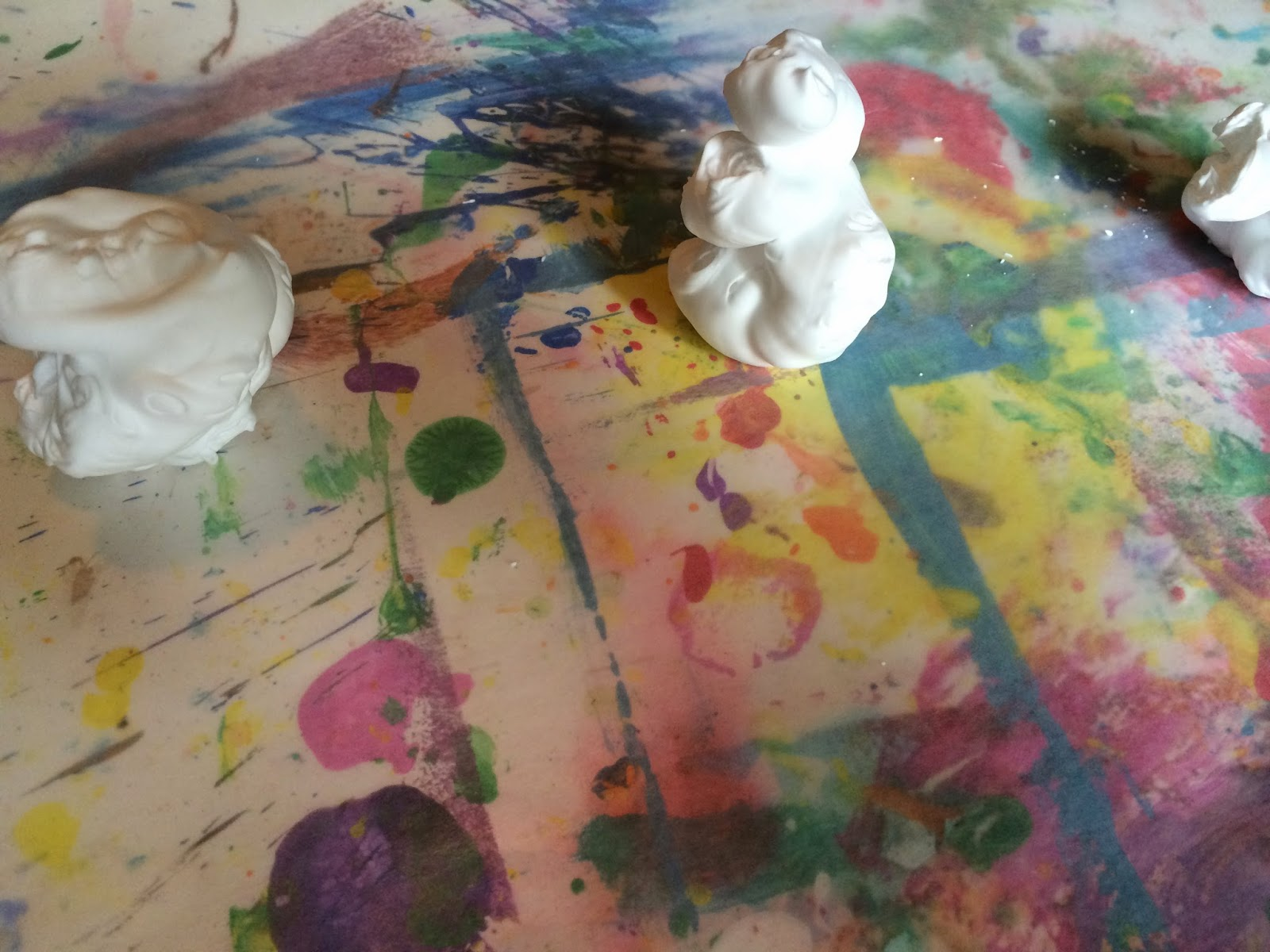 Mini Monets and Mommies: Shaving Cream Art with Monet: Famous Artist ...