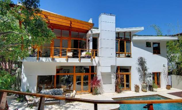Modern Homes Los Angeles: Unique Mandeville Canyon 50s 2 ...