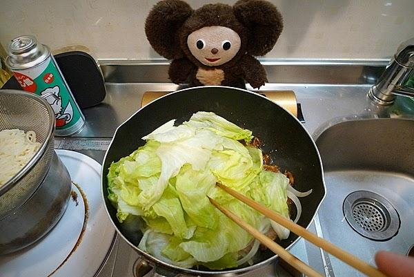 豚レタスみそ炒めの作り方(3)
