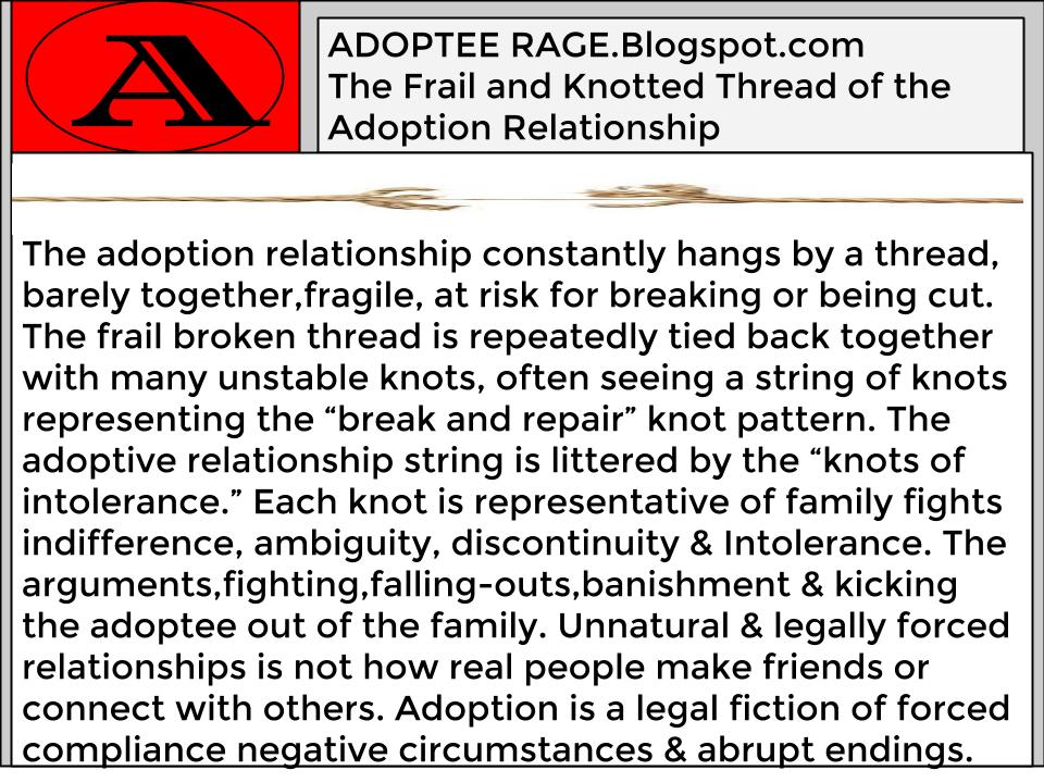 The Frail Thread of Adoption Connection