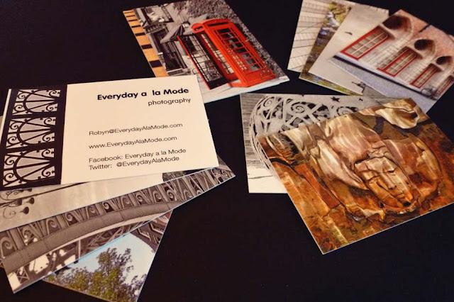 Everyday a la Mode_Blogging_Business Cards