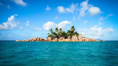St. Pierre - Insel vor Praslin, Seychellen