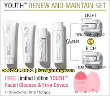 PROMOSI: RENEW & MAINTAIN SET YOUTH SKINCARE