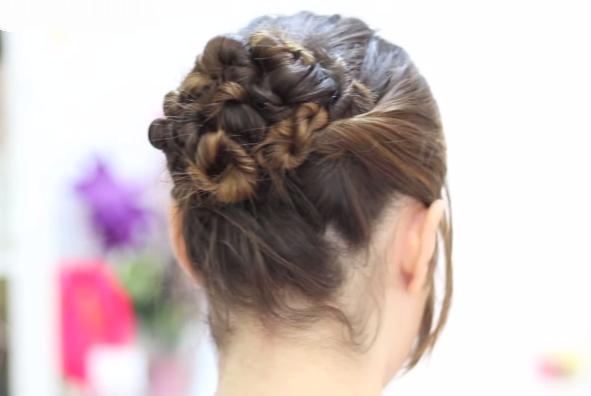 Peinados Para Pelo Corto Con Trenzas - Peinados Peinados con trenzas faciles paso a paso
