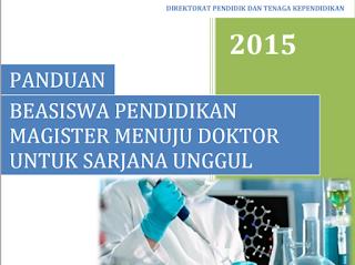Beasiswa progam doktor dikti PMDSU