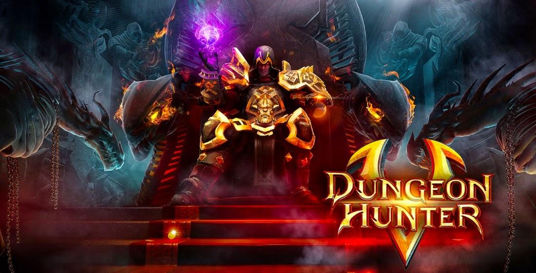 Dungeon Hunter 5 V1.0.0j MOD Apk + Data (Unlimited Money)