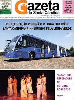 LEIA JORNAL GAZETA DO SANTA CÂNDIDA ON-LINE