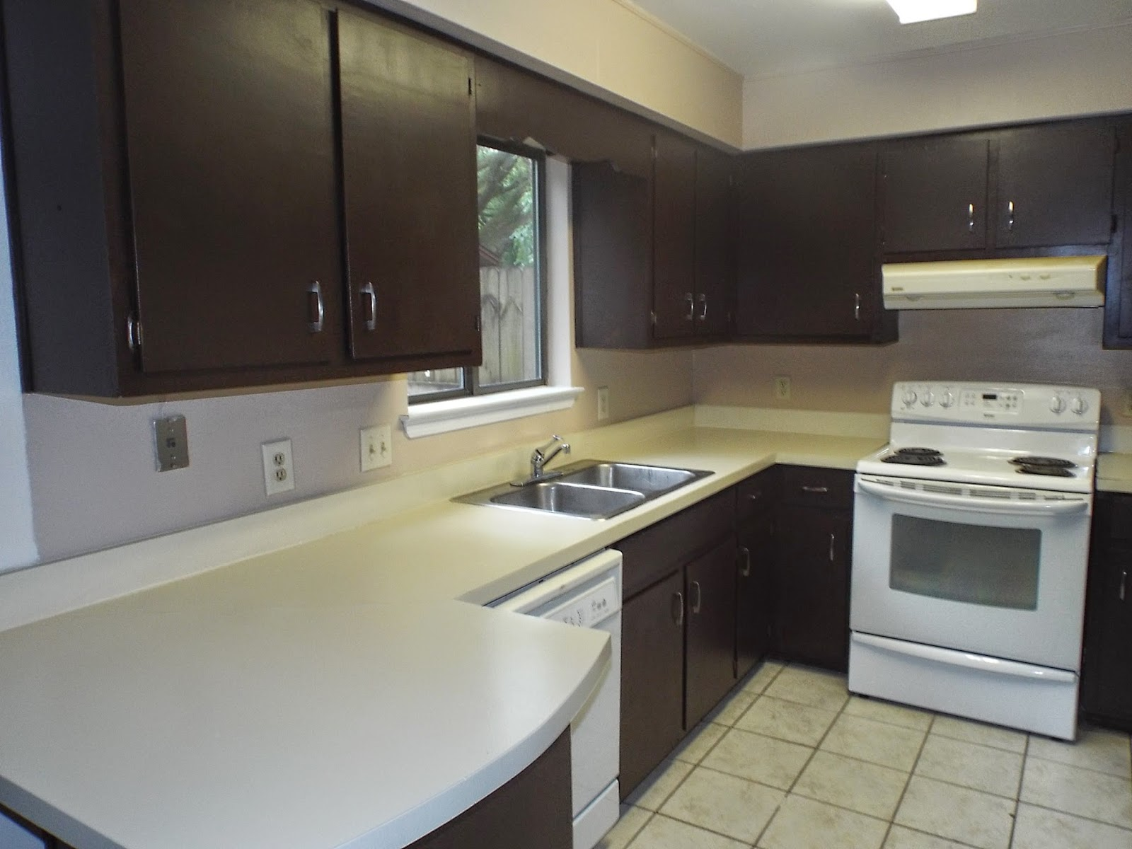 Kitchen duplex remodel After photo~ Pensacola Property Management