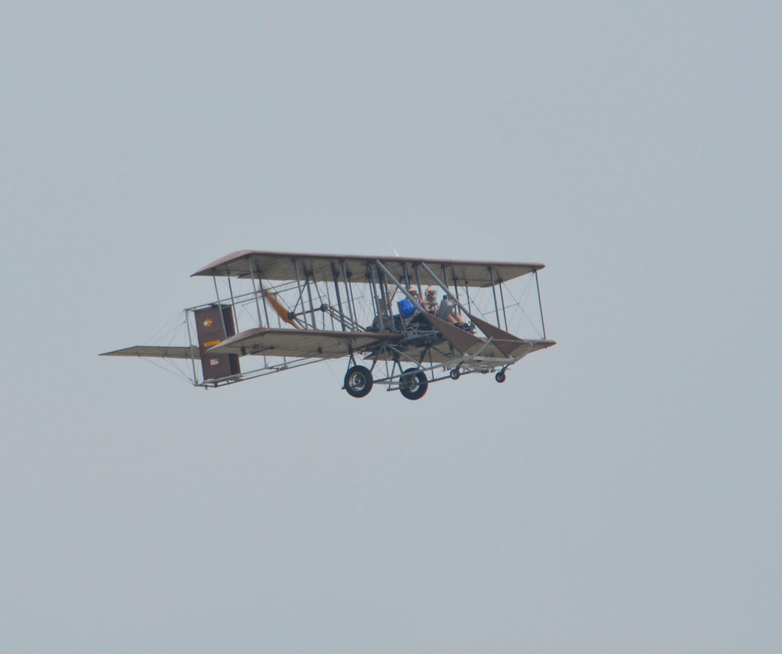 cozy birdhouse | dayton air show 2014, wright b flyer