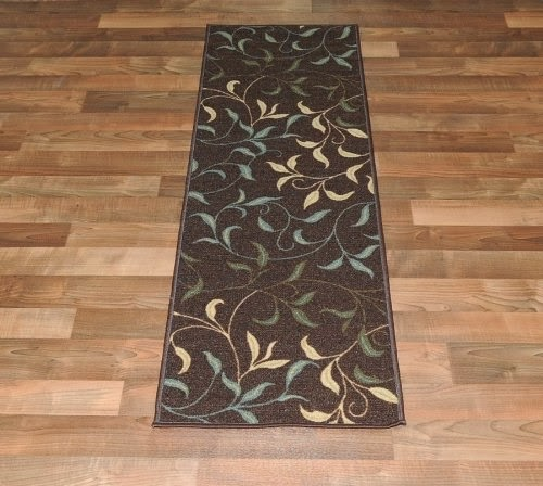 Polypropylene rugs rubber backed rugs on laminate flooring for Rugs for laminate floors
