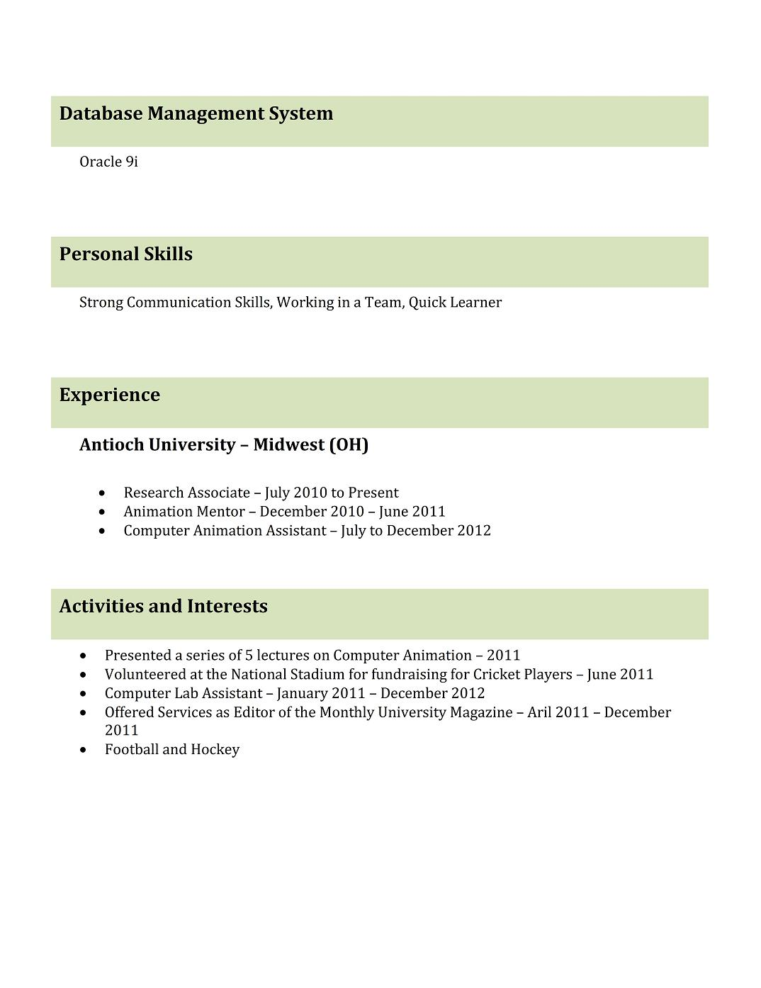 freshers resume format best professional resume templates select from great fonts including calibri and arial and make sure you maintain the size to not less than 10 and 12 2016 curriculum vitae format