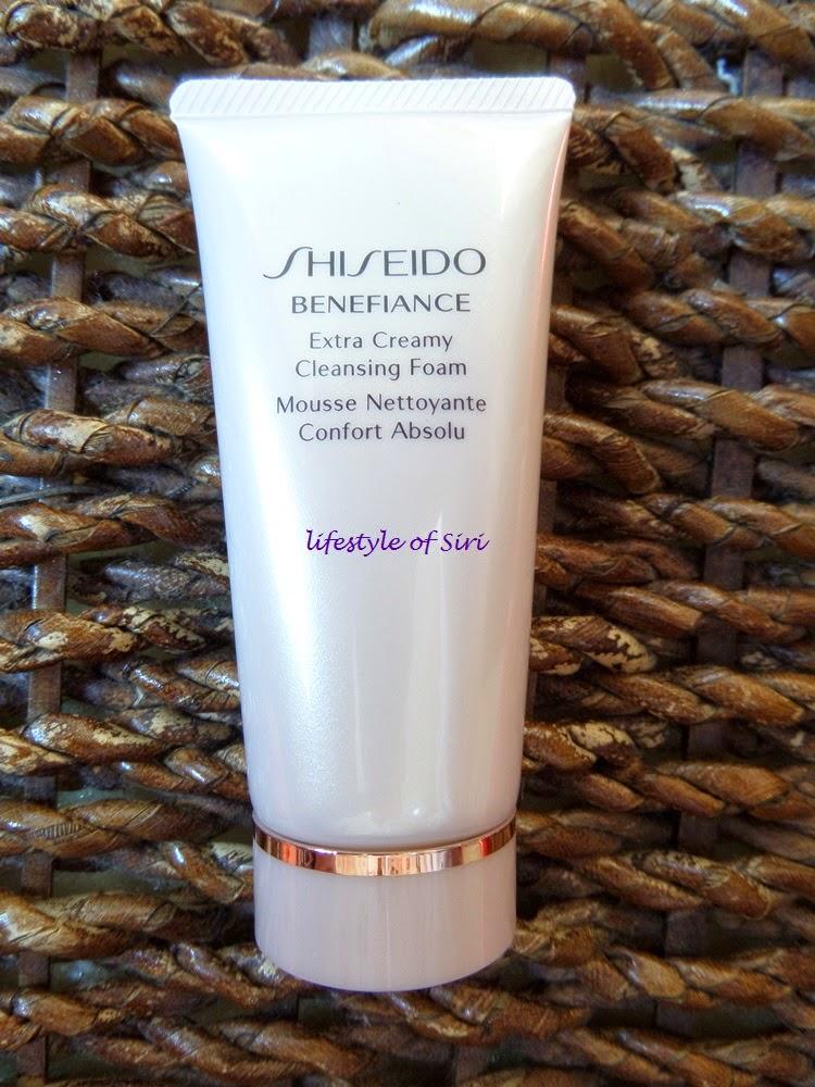 shiseido benefiance temizleme köpüğü