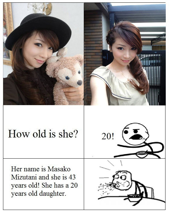 Masako Mizutani - How Old Is She - 43 Years Old Woman looks like 20 Years Old Girl