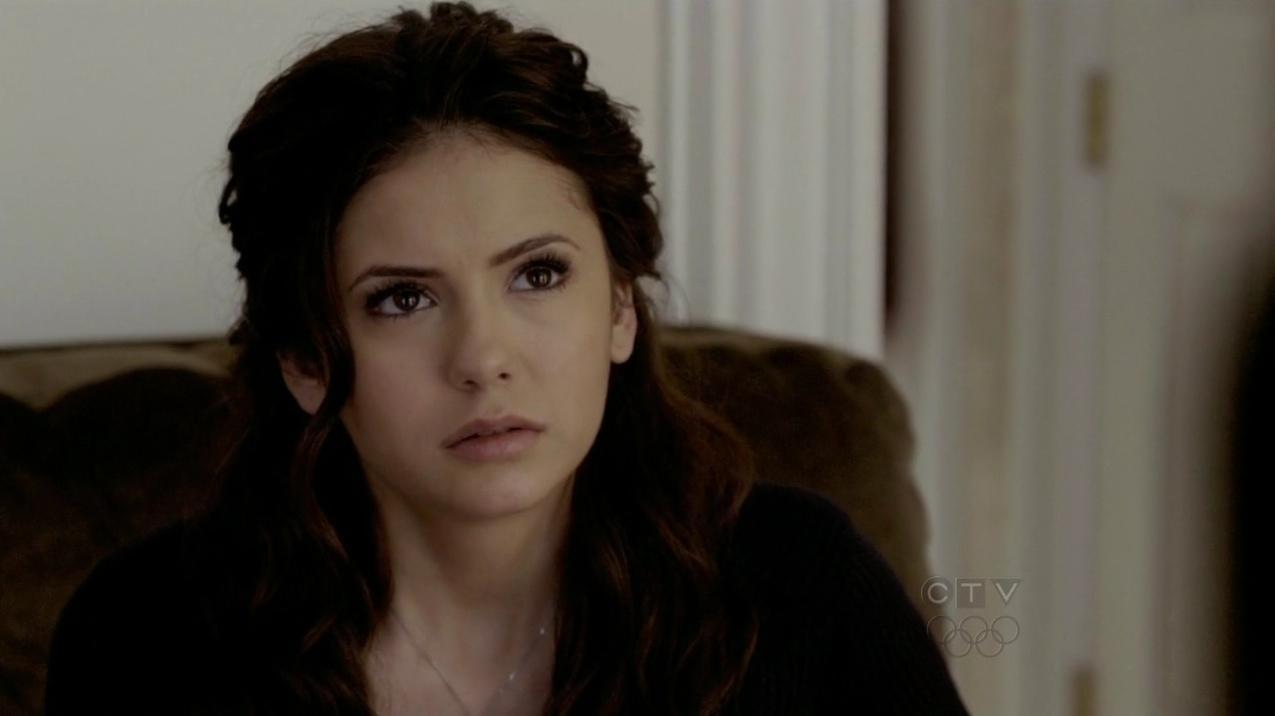 nina dobrev official: elena gilbert's miss mystic falls 1x19 dance updo