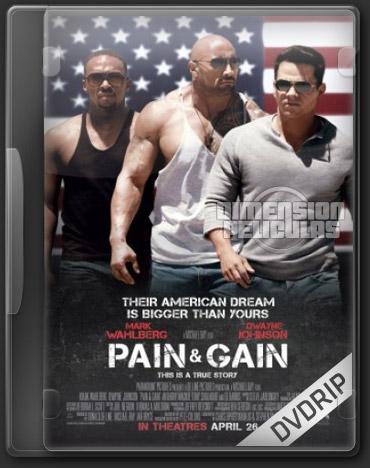 Pain & Gain (DVDRip Inglés Subtitulada) (2013)