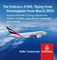 The Emirates Airbus A380 is coming to Birmingham