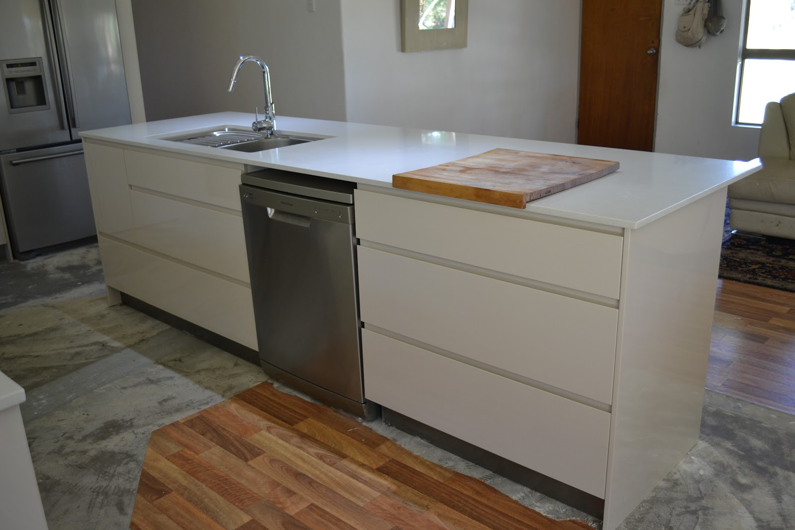 2 Plus 3 Makes 5 Drum Roll The New Kitchen
