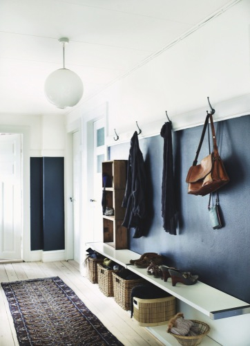 Life as a moodboard scandinavian style hall entrance - Decorer une entree avec escalier ...