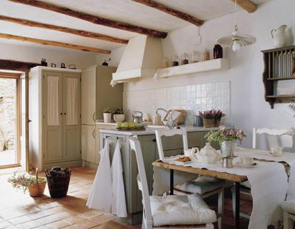 La casita de papel mezcla de estilos r stico y provenzal for Estilo rustico provenzal