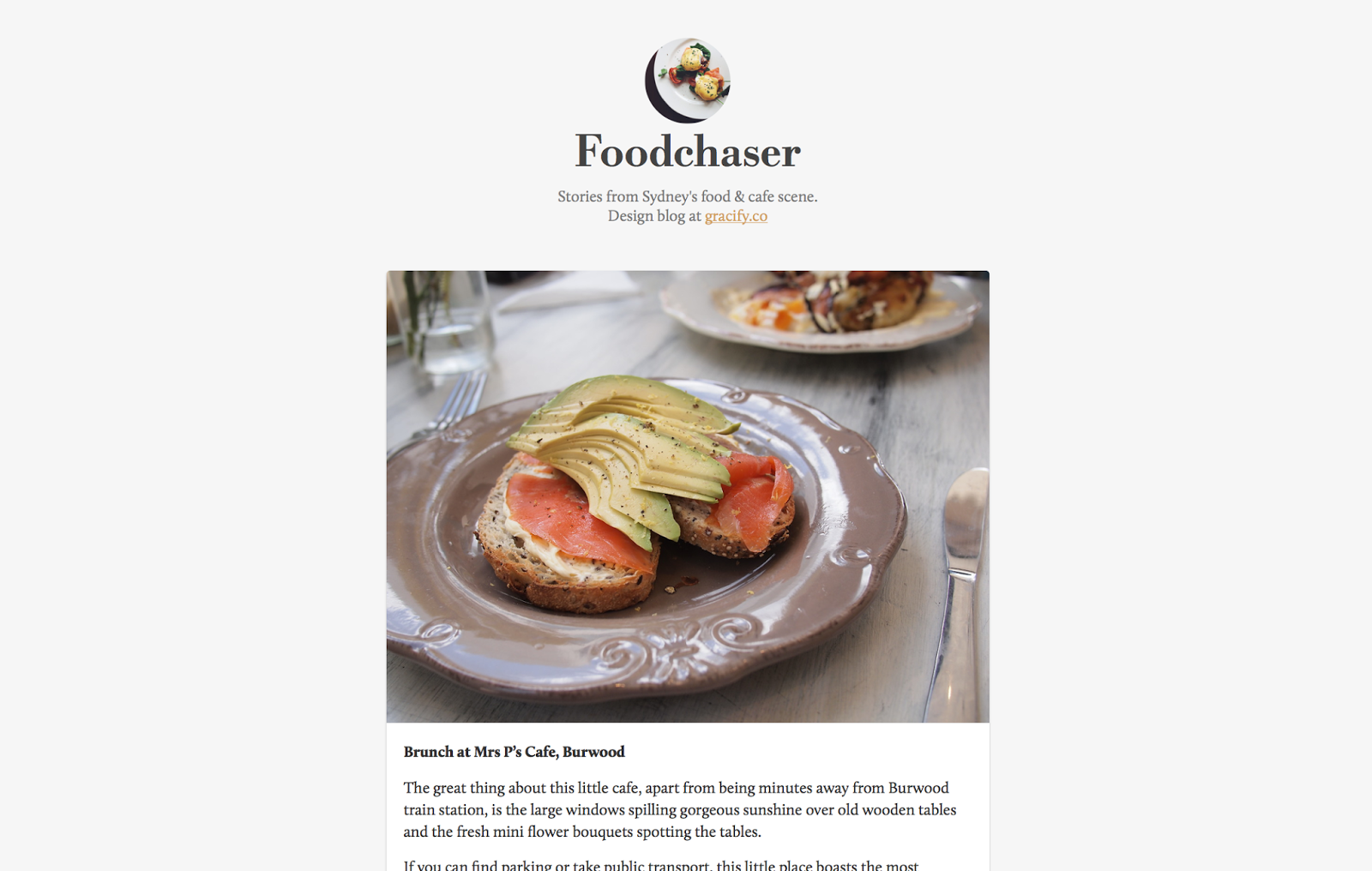 sydney food blog foodchaser