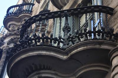 Casa Calvet designed by Antoni Gaudí
