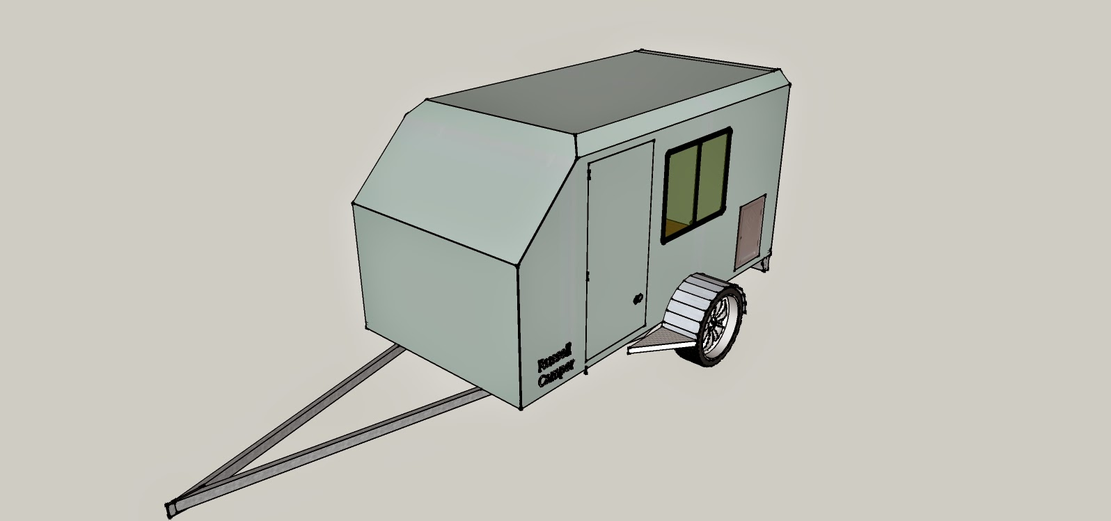 Mike\'s Camper Trailer: Intro, Construction of Trailer and Frame ...
