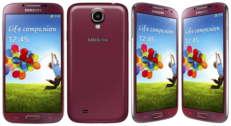 Samsung Galaxy S4 - GT-i9500 - Aurora Red