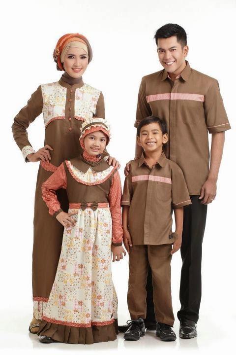 Model busana muslim terbaru untuk keluarga Model Busana Muslim Terbaru Untuk Keluarga