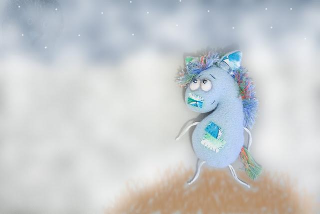 Лошадка в тумане