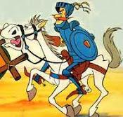 Don Quijote & Rocinante