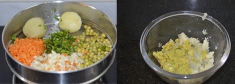 vegetable stuffing for paratha
