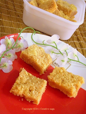 mysore pak/besan burfi