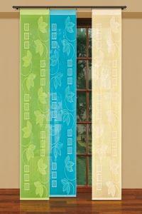 Kolorowe panele okienne