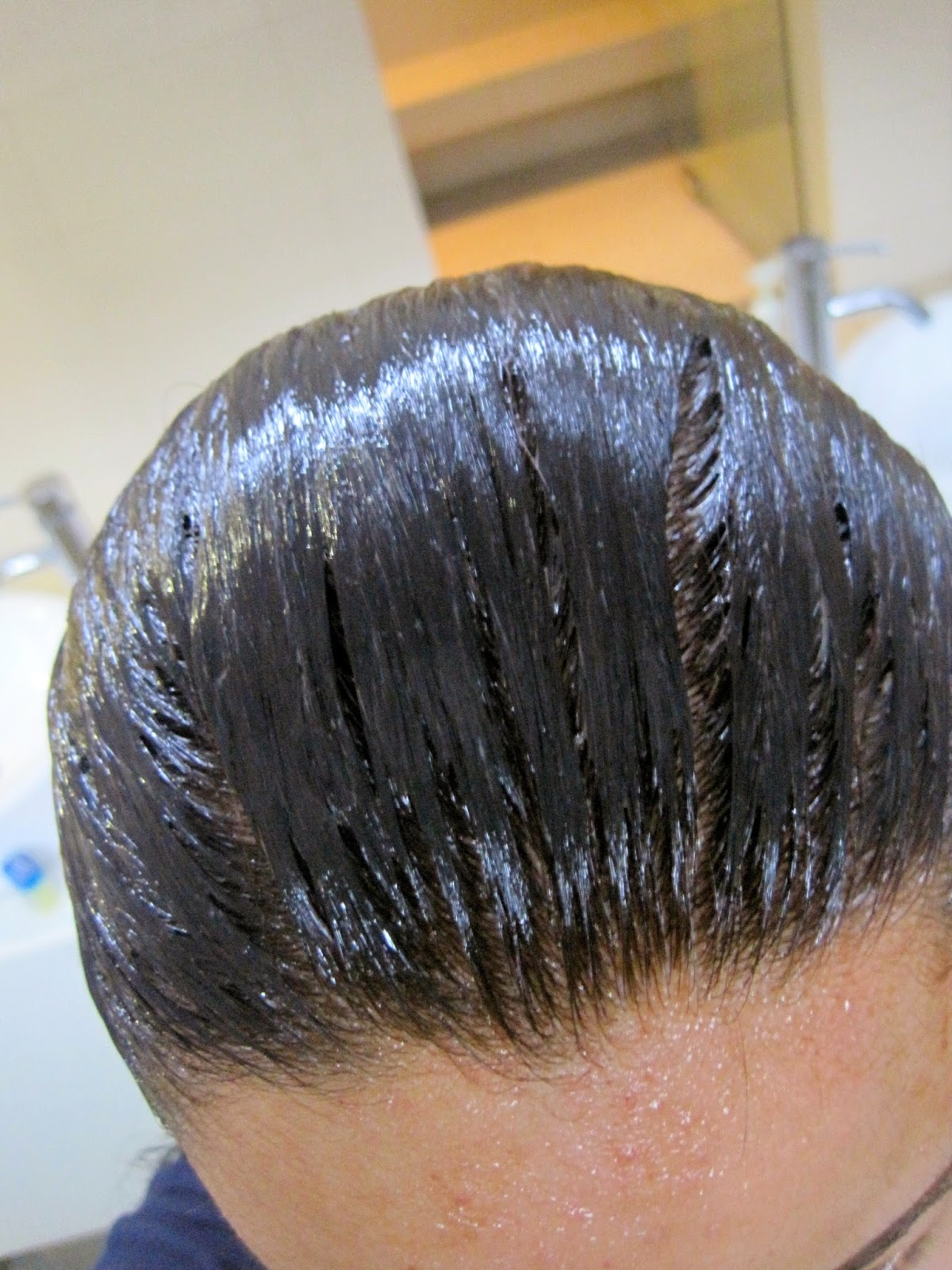 revlon black hair dye instructions