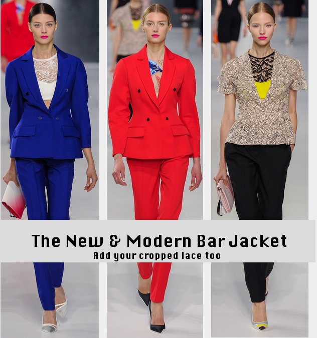 Dior Cruise 2014 - Bar Jackets - Runway to Style Freaks Fashion Blog