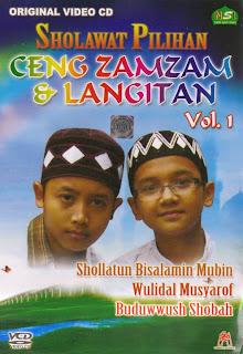 Download Gratis Koleksi lengkap MP3 Full Album Indahnya Bershalawat Ceng Zamzam Volume 1, Volume 2, Volume 3 dan Volume 4