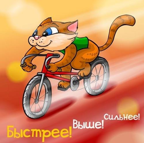 Поздравления с днем рождения велосипедисту в прозе