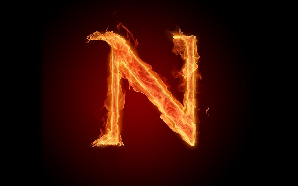 Fire Alphabet W... E Alphabet Wallpapers