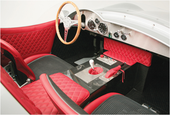 RISK AUTO SPORTS (Risk Auto 1957 Aston Martin DBR2 price $180.000) Risk auto is a car design firm based in Phoenix Arizona, Risk auto sports comes with a choice of 6-cylinder or 12-cylinder Jaguar E-Type engines or a LS3 Corvette V8 engine,