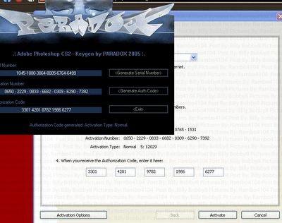 adobe photoshop cs2 activation serial number free