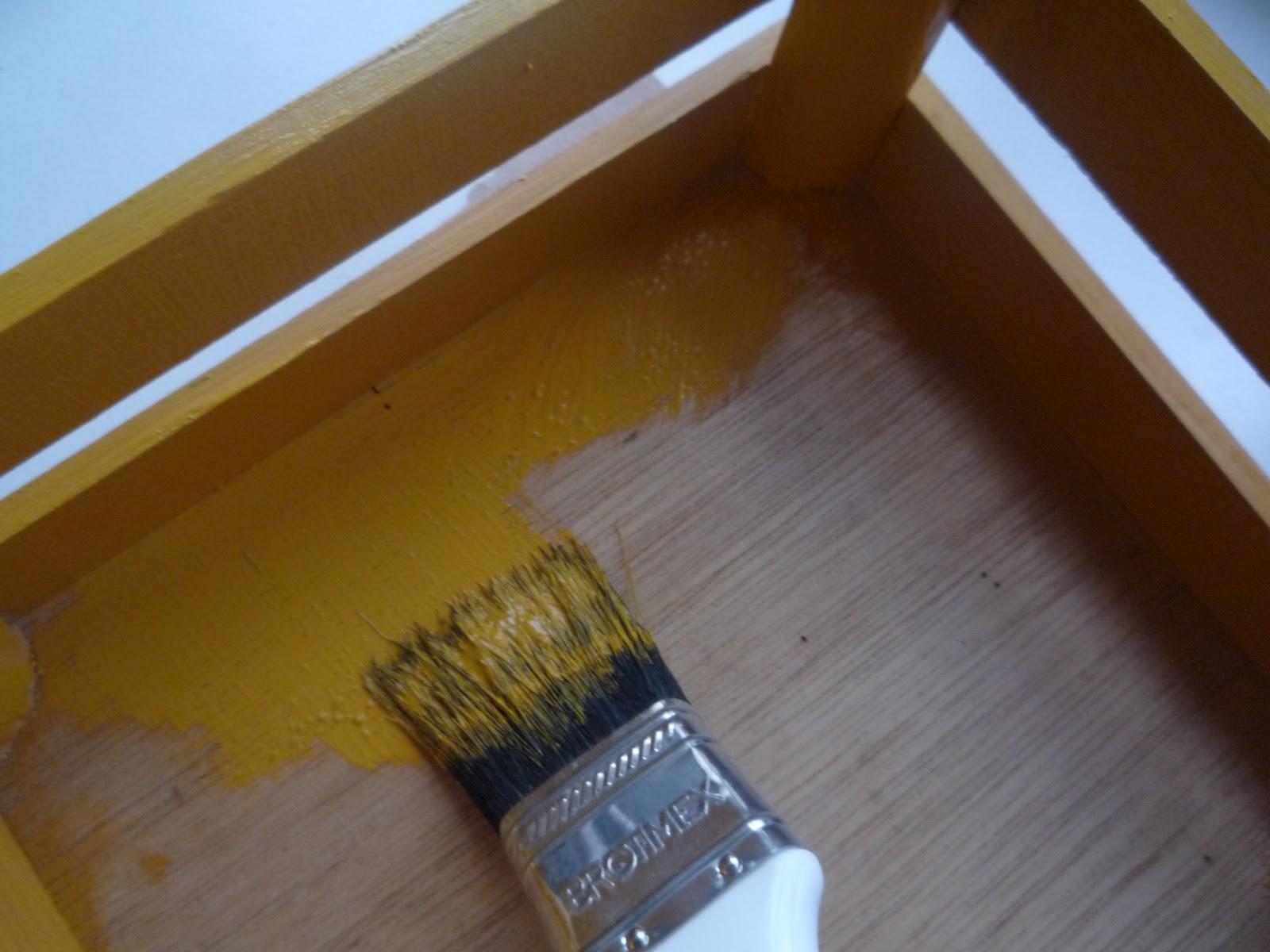 Brenda g malo recicla decora y reutiliza decorando con - Pintura dorada para madera ...