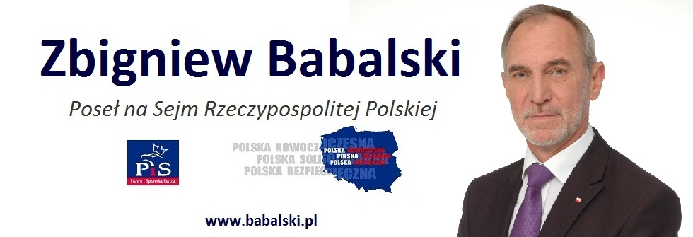Babalski Zbigniew - poseł na Sejm RP