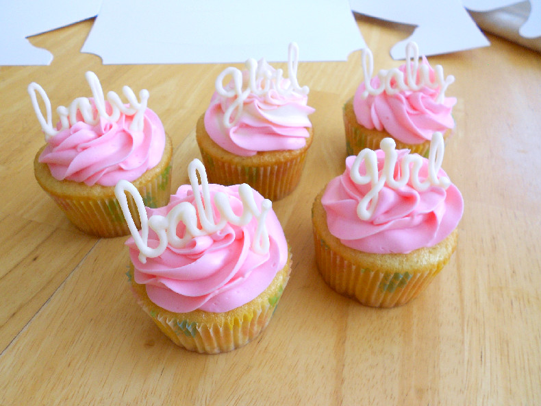 confessions of a confectionista baby girl shower cupcakes