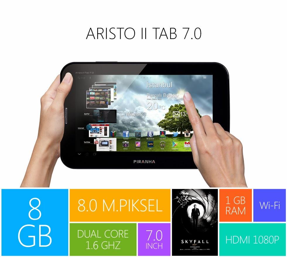 Piranha Aristo II Android Tablet