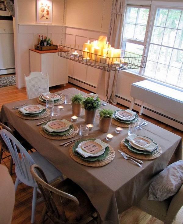 How To Arrange Table For Family Dinner Home Design